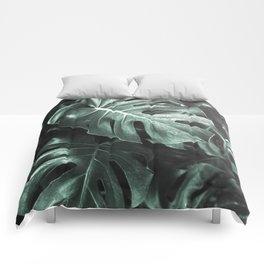Monstera leaves, Palm Leaf Comforters