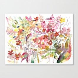 Wild flowers IV Canvas Print