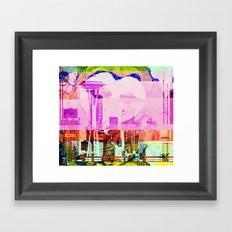 Seattle   Project L0̷SS   Framed Art Print