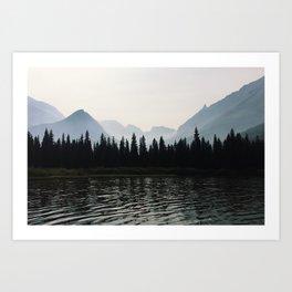 Glacier National Park II Art Print