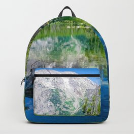 Grand Teton Mountains Lake Landscape Print Backpack