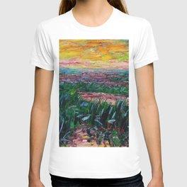 Coastal Landscape at Sunrise by Emil Nolde T-shirt