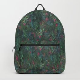 After Anawhata Jungle  Pattern Backpack