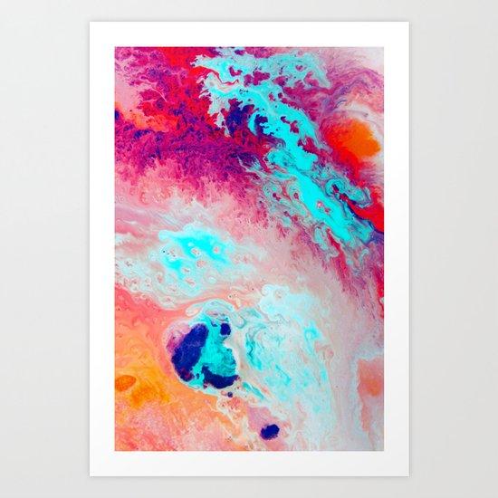 Commix Art Print