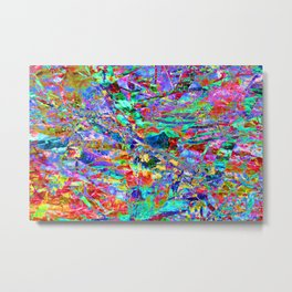 Technicolour: Three Metal Print