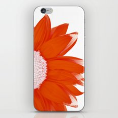 portrait of summer - red white iPhone & iPod Skin