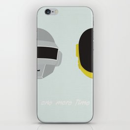 One More Time iPhone Skin