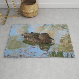 Mallard Duck Rug