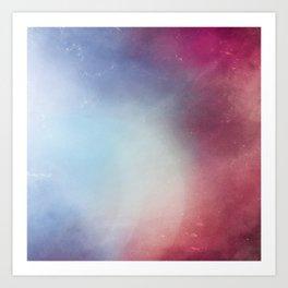 Galaxy Blossom Art Print