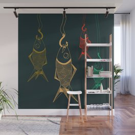 those are not fishes Wall Mural