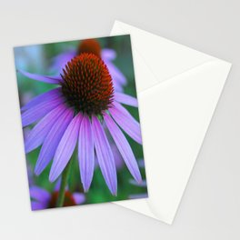Purple Petals Stationery Cards