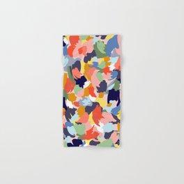 Bright Paint Blobs Hand & Bath Towel