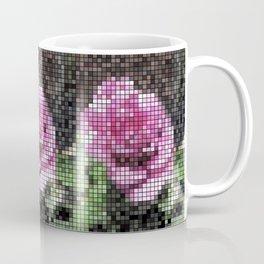 Rosas Moradas 1 Mosaic Coffee Mug