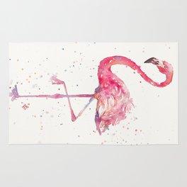 A Flamingos Fancy Rug