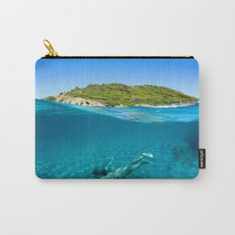 St Tropez Sea Three Carry-All Pouch