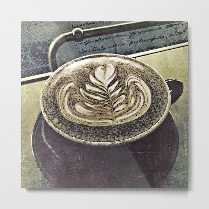 mokaccino Metal Print