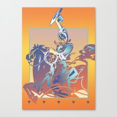 Bronco Canvas Print
