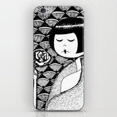No petal falls iPhone & iPod Skin