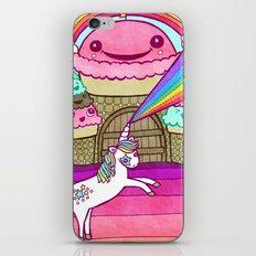 Unicorn and Ice Cream Kingdom iPhone & iPod Skin