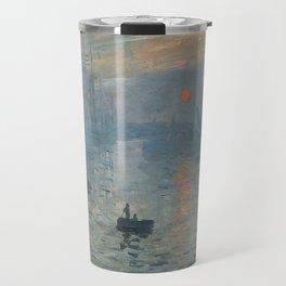 Claude Monet's Impression, Soleil Levant Travel Mug