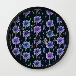 cornflower dream Wall Clock