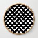 Black White Hearts Minimalist by beautifulhomes