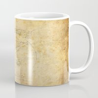 da vinci Mugs featuring Break-Da (vinci) nce by boonheilig