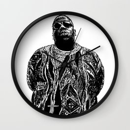 Biggie Biggie Biggie Wall Clock