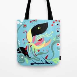 The Hungry Flower Tote Bag
