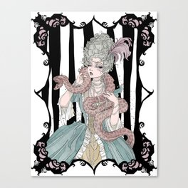 Madame Boa Canvas Print