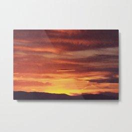 Sunset's Palette Metal Print