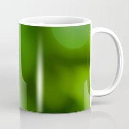 Bokeh Leaf Coffee Mug