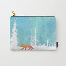 A Fox in the Wild Carry-All Pouch