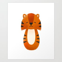 Tiger  Nursery Art Art Print