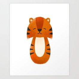 Tiger  Nursery Art Art Print
