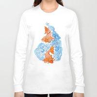 carpe diem Long Sleeve T-shirts featuring Carpe diem by bianca.ferrando