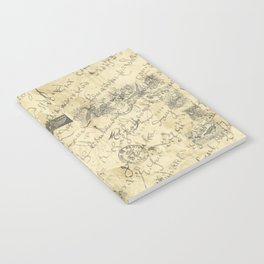 Parisian French Script Notebook