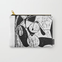 Xylography femme Carry-All Pouch