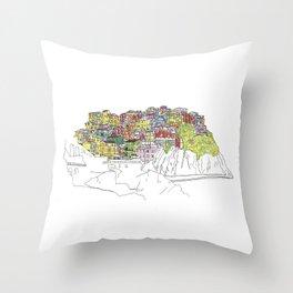 Cinque Terre, Italy Throw Pillow