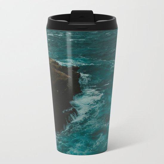 Big Sur Coastal Metal Travel Mug