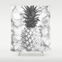 marble fruit Shower Curtain