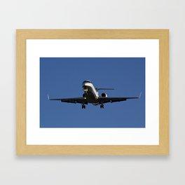 Executive Jet Framed Art Print