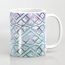 MERMAID Glitter Scales Dream #2 #shiny #decor #art #society6 Coffee Mug
