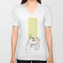 Howl Along Unisex V-Neck