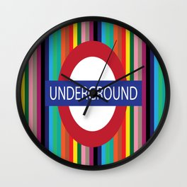 London Underground Wall Clock