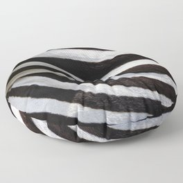 """Pop Safari 01 Zebra"" Floor Pillow"