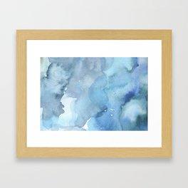 blue#2 Framed Art Print
