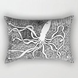 Giant Squid Rectangular Pillow