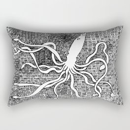 Giant Squid Rectangular Pillow