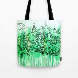 BATTLE ROYALE UNDERWATER Tote Bag